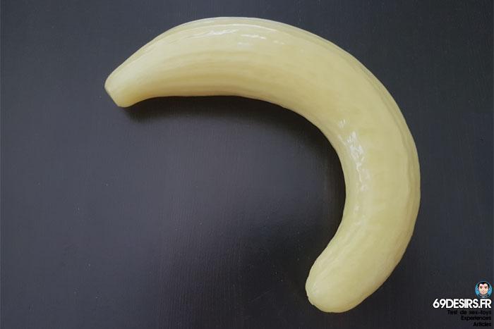curved cucumber dildo - 20