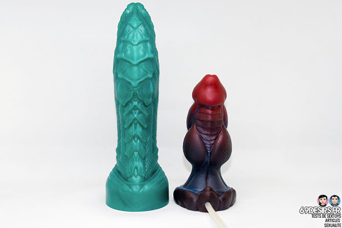 dragon dildo from Mr hankey's toys - 16
