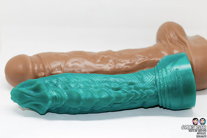 dragon dildo from Mr hankey's toys - 17