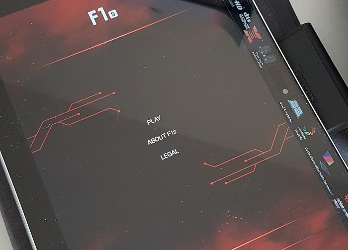 lelo F1s demo app tablet - 1