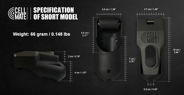 cellmate chastity device dimensions small