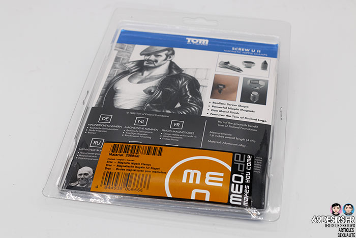 Tom of finland magnetic screw nipple clamps - 2
