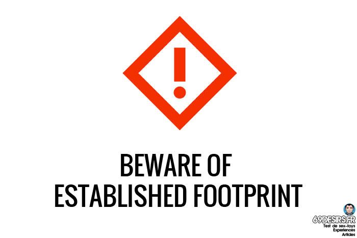 First sextoy - extablished footprint