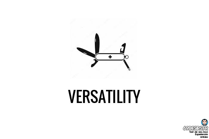 First sextoy - Versatility