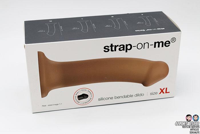 strap-on me silicone bendable dildo - 1