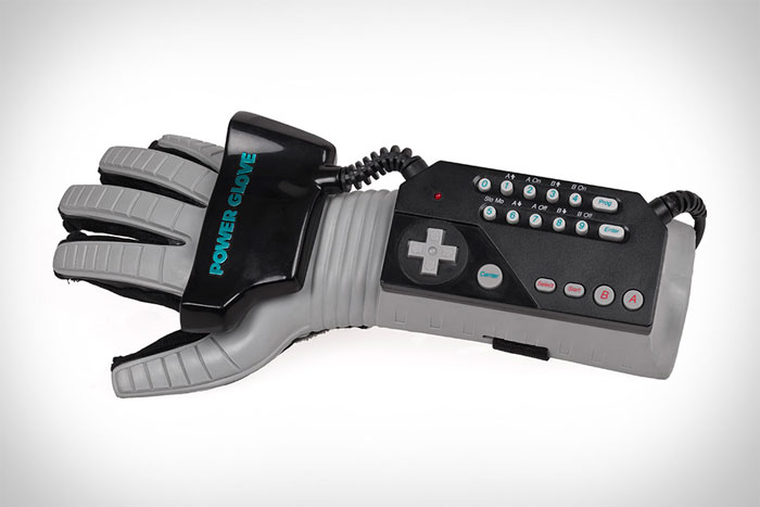 Power glove from Nintendo