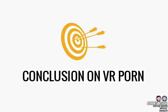 VR Porn conclusion