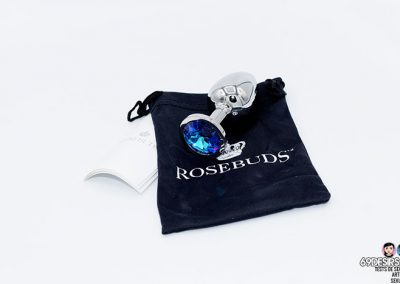 Rosebuds Butt Plug Large - 4