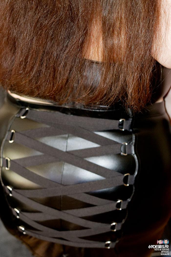 Lovehoney Fierce wetlook skirt - 11