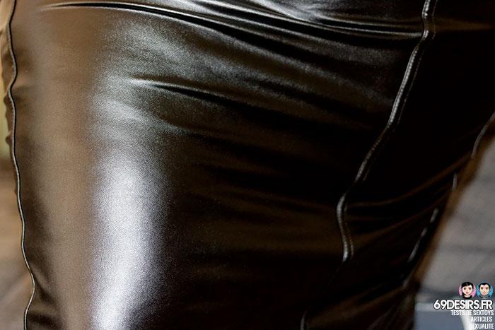 Lovehoney Fierce wetlook skirt - 2