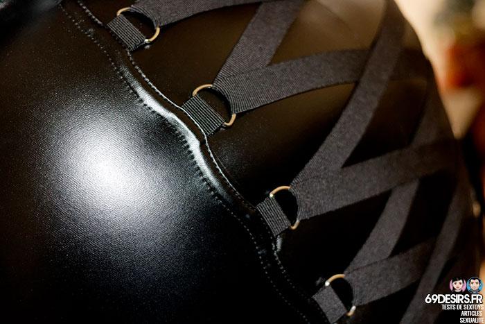 Lovehoney Fierce wetlook skirt - 4