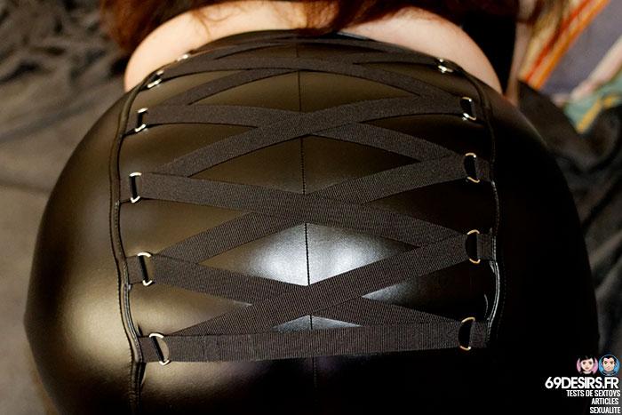Lovehoney Fierce wetlook skirt - 9