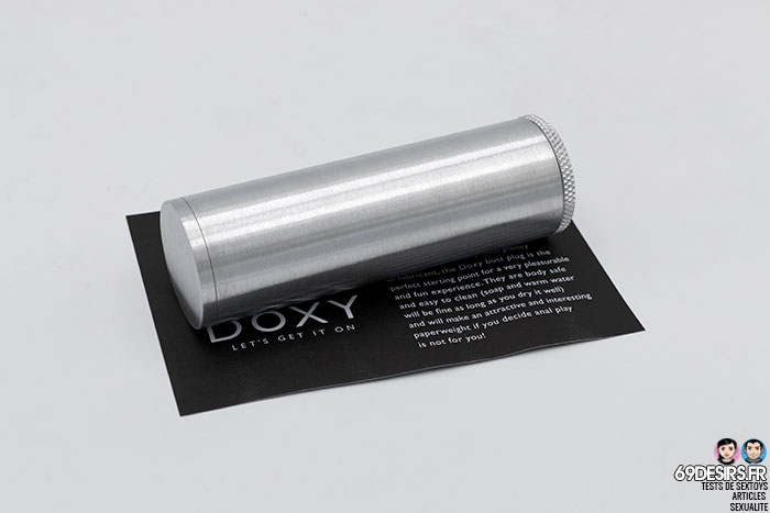 Doxy Butt Plug - 3